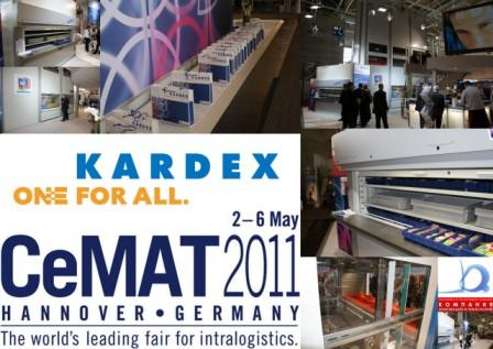 CeMAT Hannover 2011 NTERNATIONAL FAIR FOR INTRALOGISTIC CeMAT 2011 HANNOVER (GERMANY)