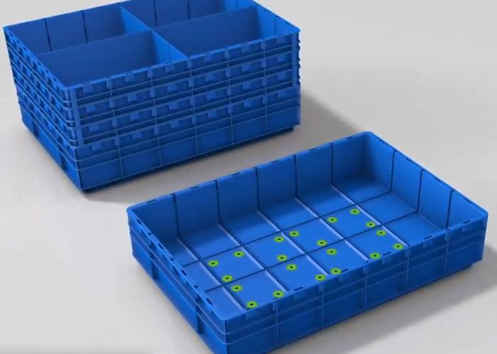Дренажные отверстия в ящике для спринклерных систем пожаротушения - KARDEX - КИИТ