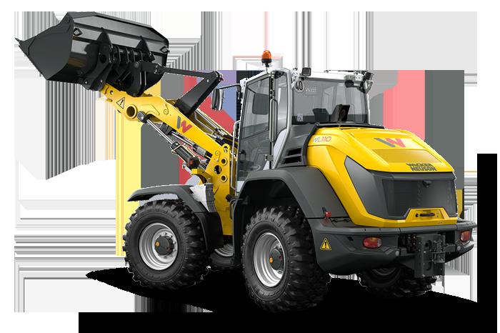 Колесный погрузчик WL110 вышел на новый уровень производительности, опрокидывающей нагрузки и тягового усилия